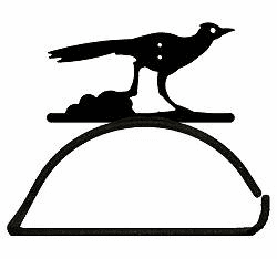 Roadrunner Design Paper Towel/Toilet Paper Holder