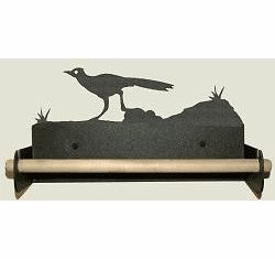 Roadrunner Paper Towel Holder With Wood Bar