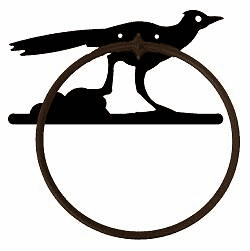 Roadrunner Towel Ring