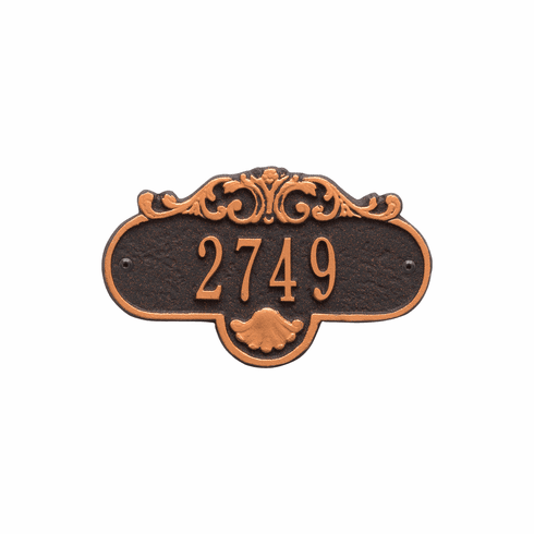 Rochelle Petite Wall One Line Plaque in Oil Rubbed Bronze