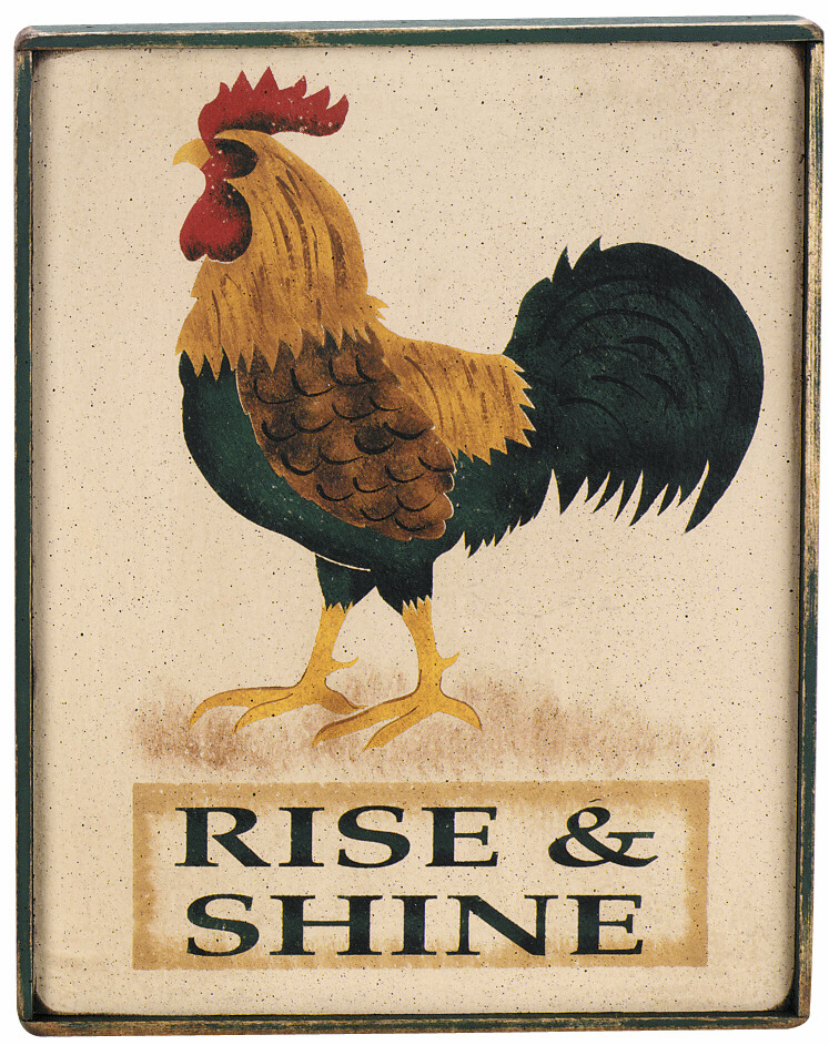 Rooster Picture - Rise & Shine
