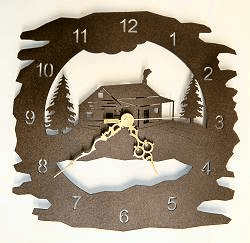 Rough Edge Clocks