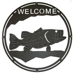 Round Welcome Signs