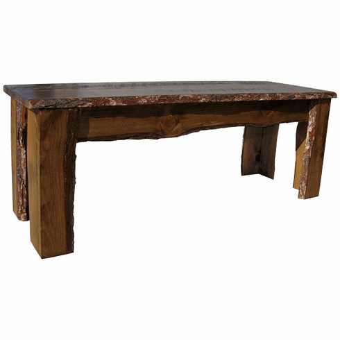 Rustic Bench, 48 inch wide