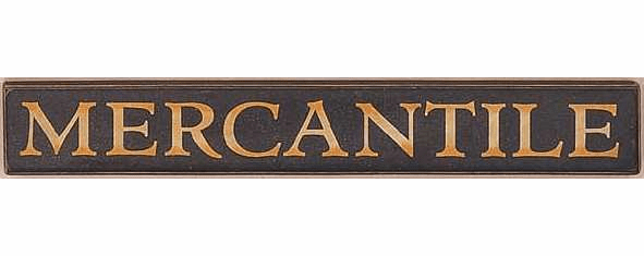 Rustic Decorations - Mercantile