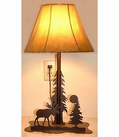 Rustic Desk/Night Stand Lamp - Choice of Design