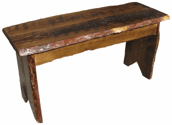 Rustic Farm Bench, 36 inch wide