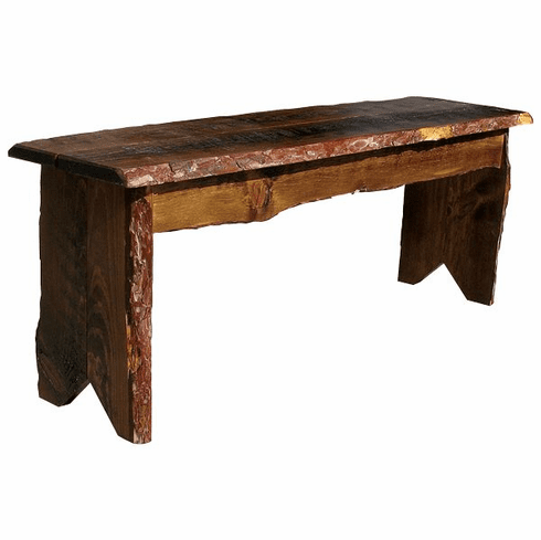 Rustic Farm Bench, 48 inch wide