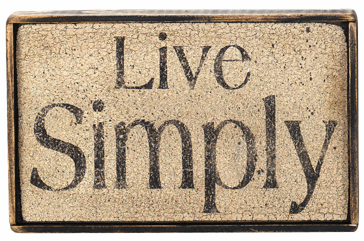 Rustic Gift - Live Simply