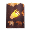 Rustic Lodge - A Bear was Here - Timber Ridge Wall Sconce
