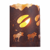 Rustic Lodge - A Moose was Here - Timber Ridge Wall Sconce