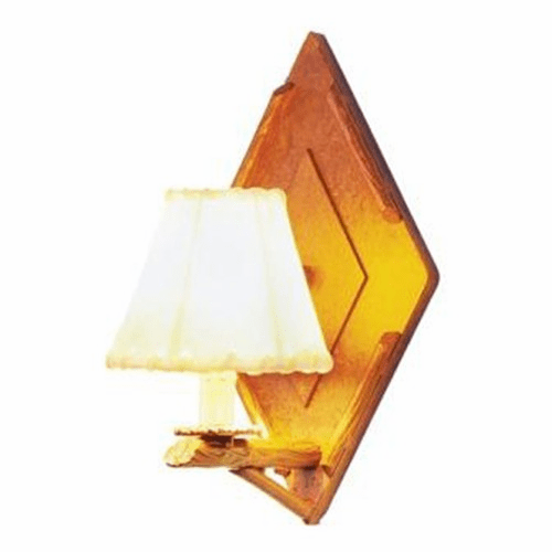Rustic Lodge Adirondack Wall Sconce