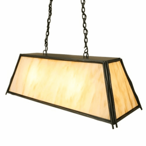 Rustic Lodge Canyon Swag Sticks Pendant Light