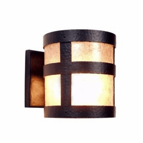 Rustic Lodge Open Portland Wall Sconce