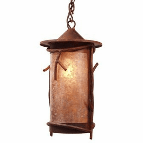Rustic Lodge Pasadena Sticks Pendant