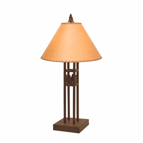 Rustic Lodge Scottsdale Table Lamp
