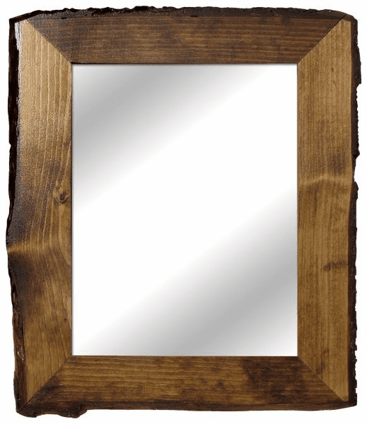 Rustic Mirror, 17in x 20in