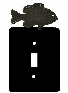 Rustic Panfish Smooth Edged Switch/Wall Plate 12 Styles