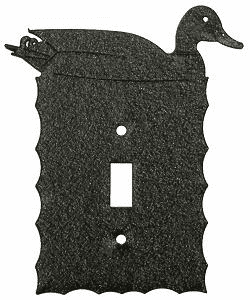 Rustic Scalloped Duck Switch/Wall Plate in 12 Styles
