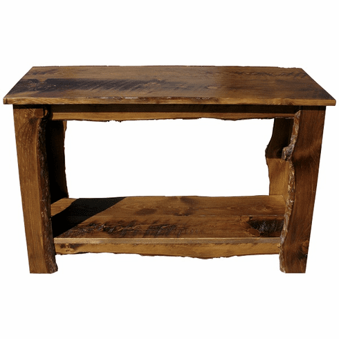 Rustic Sofa Table, 48 inch wide