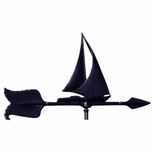 Sailboat Weathervane - Marina Decor