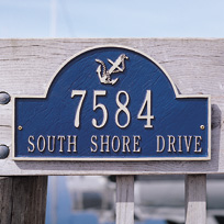 Nautical Address Plaques