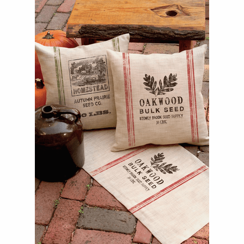 Seed Labels Homestead Pillow