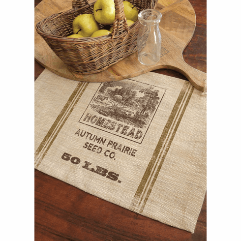 Seed Labels Homestead Placema, set of 4