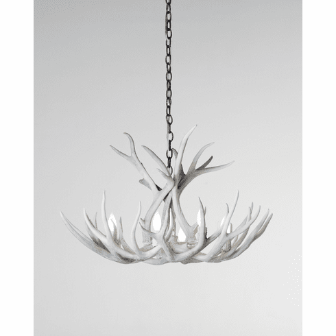 Shed Antler Chandelier 8 Lights Sun-Bleached