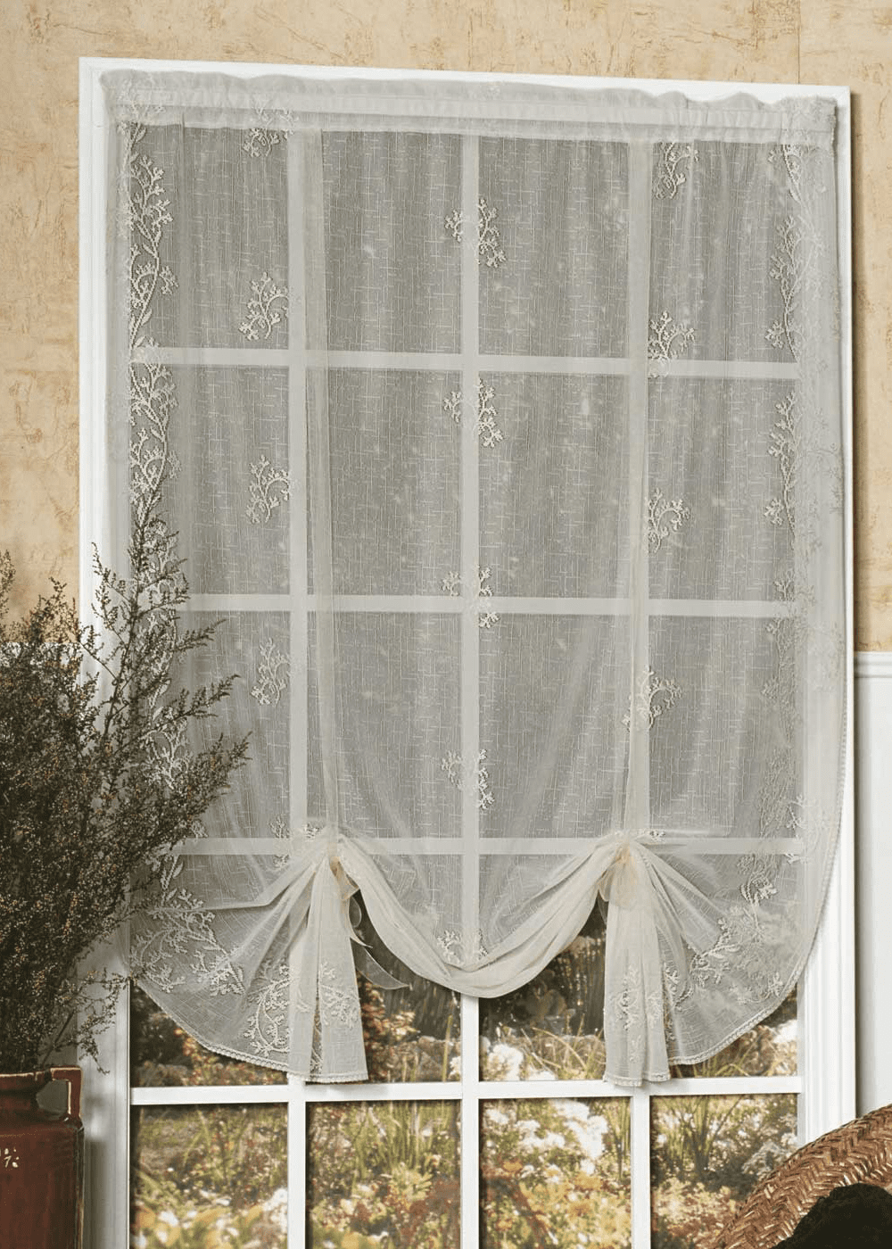 Sheer Divine Drape Shade