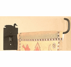 Sitting Duck Garden Flag Holder