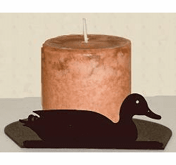 Sitting Duck Silhouette Candle Holder