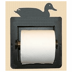 Sitting Duck Toilet Paper Holder (Recessed)