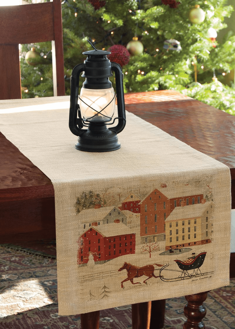 Sleigh Ride Small Runner
