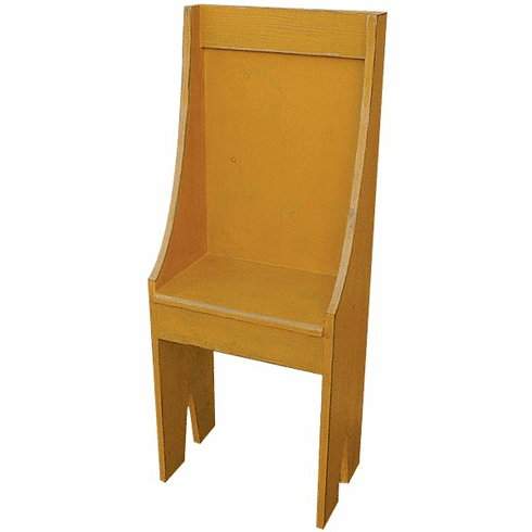 Small Primitive Chair Bench, 16 inch wide
