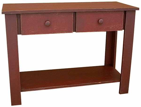 Sofa Table with Drawer, 36 inch wide