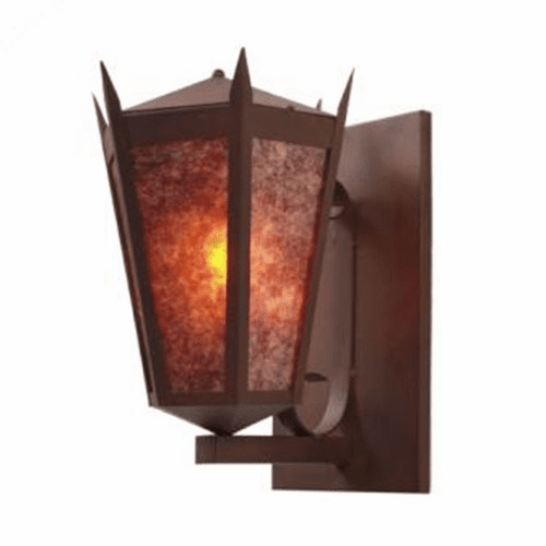 Spanish Revival Monarch Wall Sconce