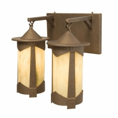 Spanish Revival Pasadena - Vallejo Double Vanity Light