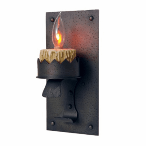 Spanish Revival Sawtooth Wall Sconce
