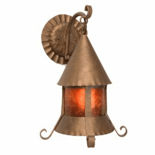Spanish Revival Sonoma Hanging Wall Sconce