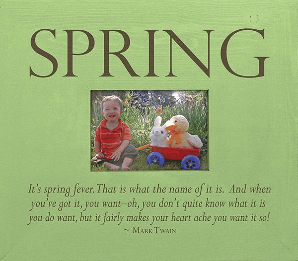 Spring - It's Spring Fever�Frame