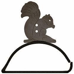 Squirrel Design Paper Towel/Toilet Paper Holder