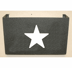 Star Wall Mount Magazine Rack