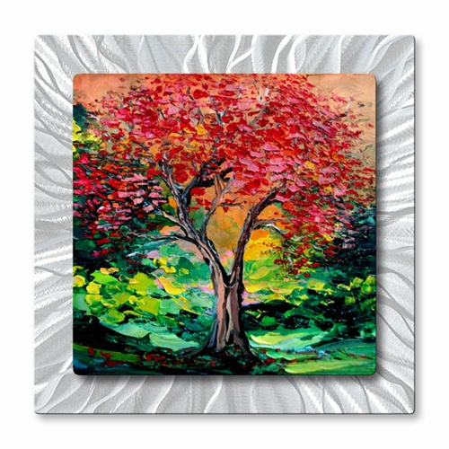 Story Of The Tree Act XLIV Metal Wall Art