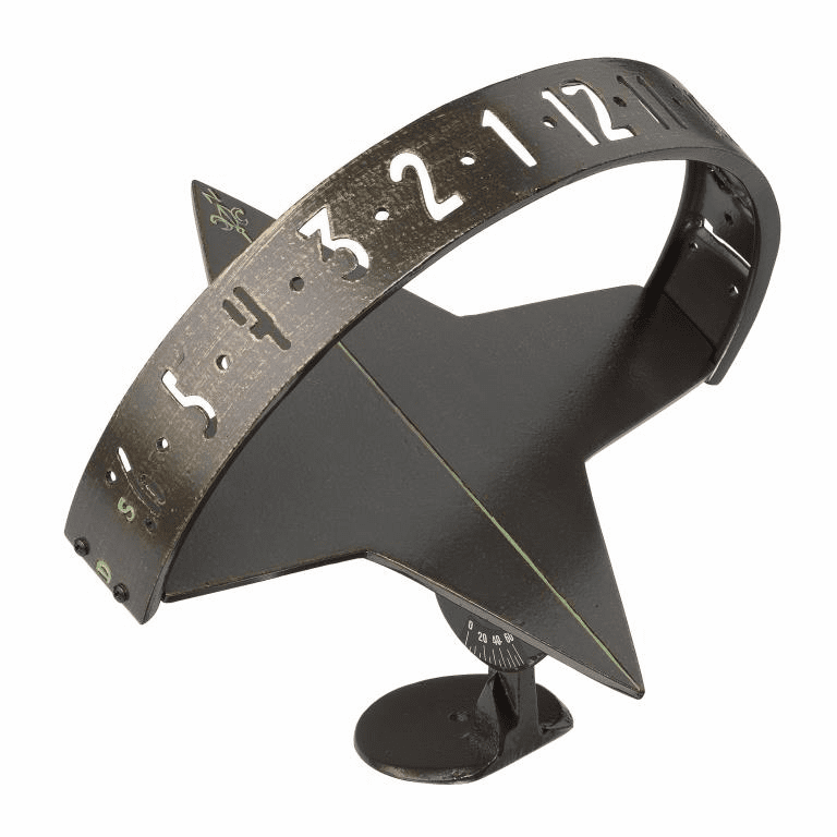 Sun Clock Sundial - French Bronze