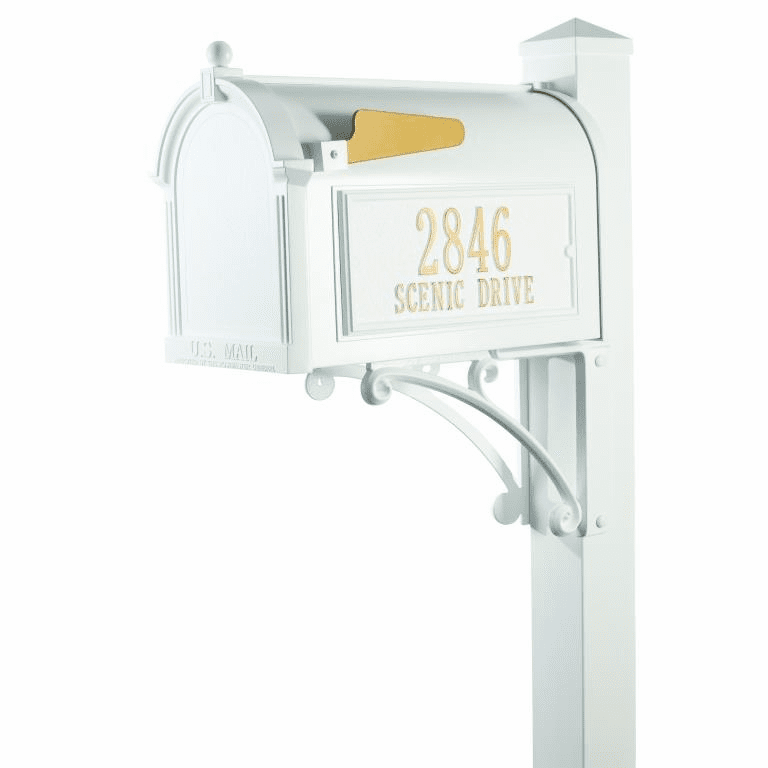 Superior Mailbox Package in White