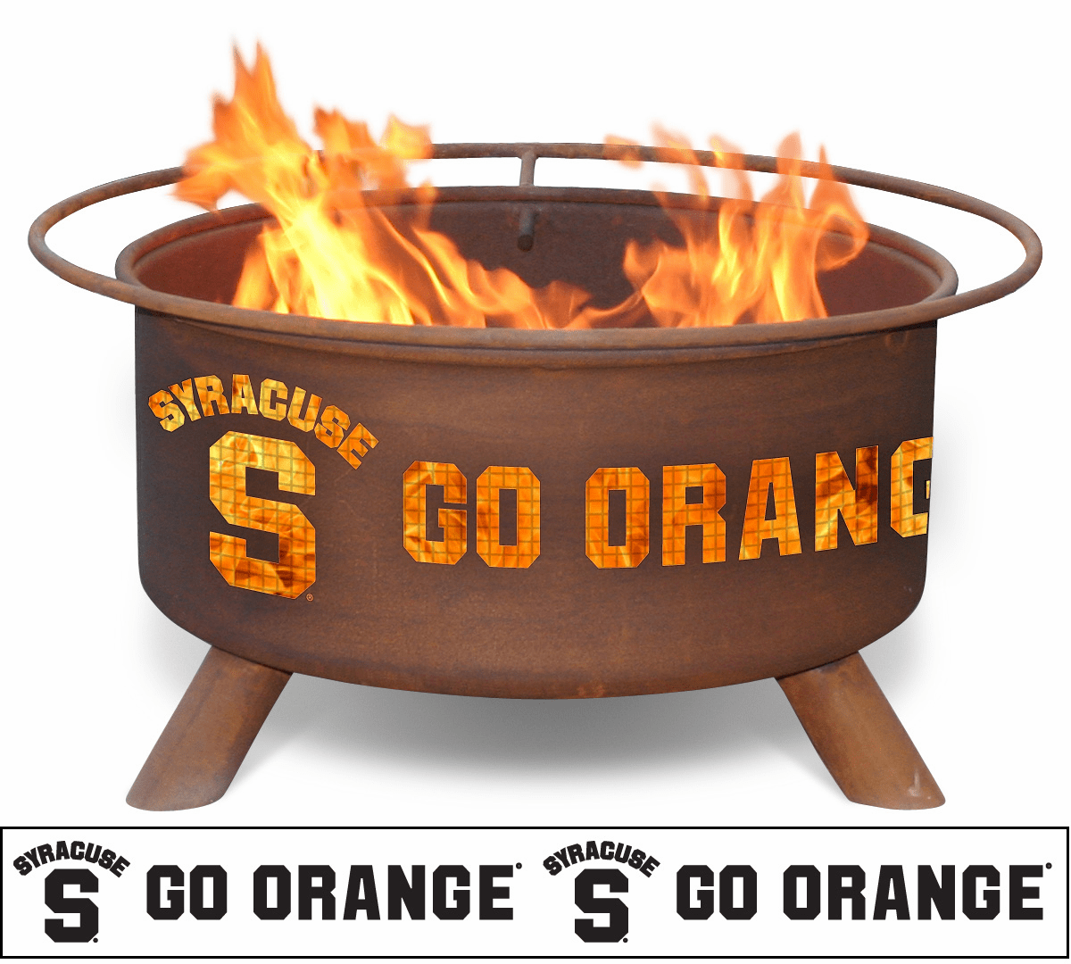 Syracuse University Orangemen Fire Pit