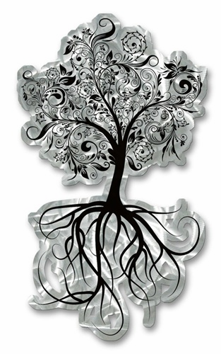 The Flowering Tree Wall Sculpture