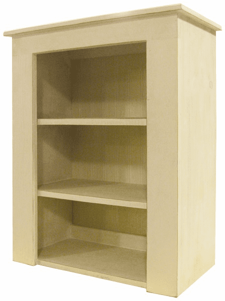 Top Hutch, 24 inch wide