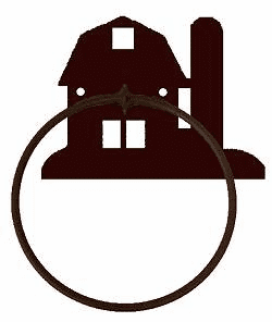 Towel Ring-Barn Design